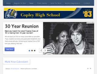 copley83.com screenshot