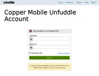 coppermobile.unfuddle.com screenshot