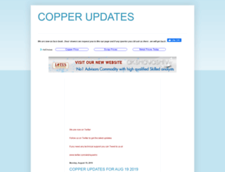 copperupdates.blogspot.in screenshot