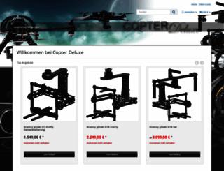 copterdeluxe.com screenshot