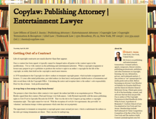 copylaw.org screenshot