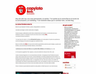 copyloto.blogspot.com screenshot