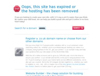 copywritingforprofessionals.co.uk screenshot