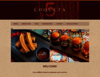 coquetasf.com screenshot