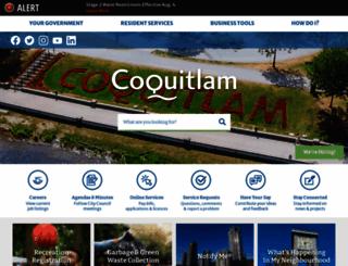 coquitlam.ca screenshot