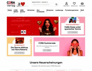 cora.de screenshot