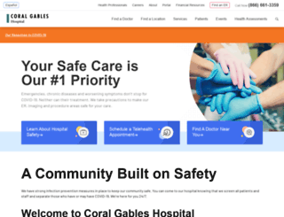 coralgableshospital.com screenshot