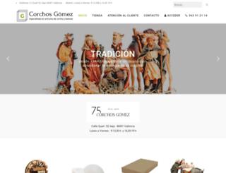 corchosgomez.com screenshot