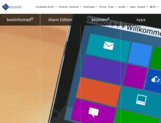 cordaware.com screenshot