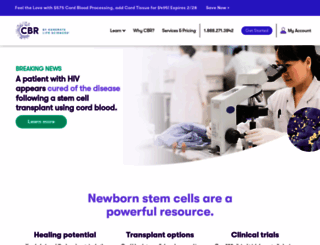 cordblood.com screenshot