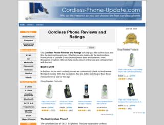 cordless-phone-update.com screenshot