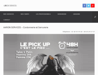 cordonnierparis.com screenshot