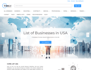core-list.com screenshot