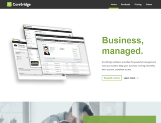 corebridgesoftware.com screenshot