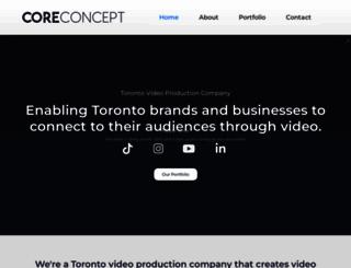 coreconceptmarketing.com screenshot