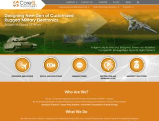 coreel.com screenshot