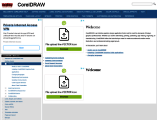 coreldraw.helpmax.net screenshot