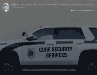 coresecurityservices.com screenshot