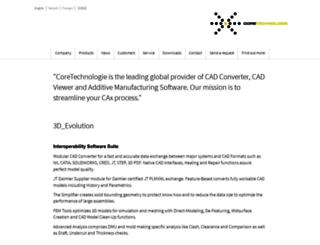 coretechnologie.com screenshot