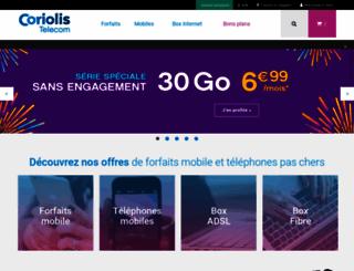 coriolis.com screenshot