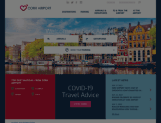corkairport.com screenshot