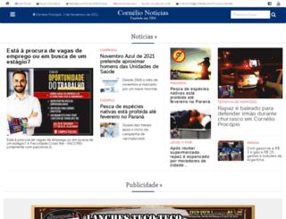 cornelionoticias.com.br screenshot