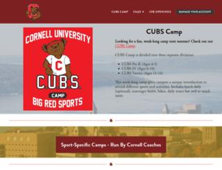 cornellcamps.com screenshot