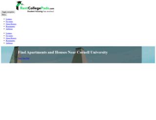 cornellpads.com screenshot