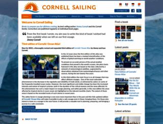 cornellsailing.com screenshot