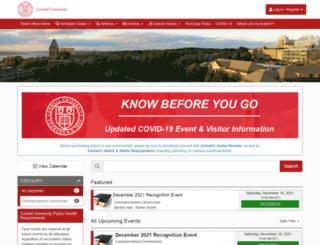 cornelltickets.universitytickets.com screenshot