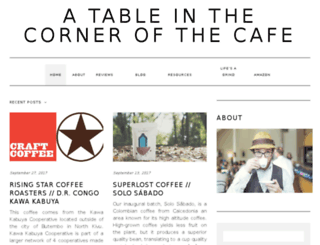 cornerofthecafe.com screenshot