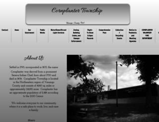 cornplantertownship.net screenshot