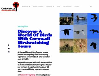 cornwall-birding.co.uk screenshot
