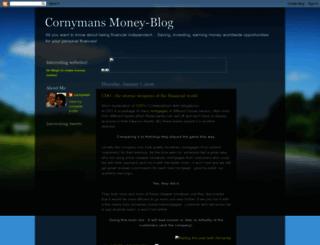 cornys-moneypage.blogspot.com screenshot