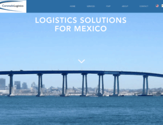 coronadologistics.com screenshot