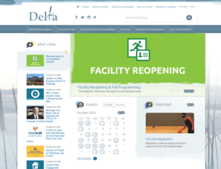 corp.delta.bc.ca screenshot