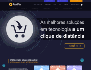 corpflex.com.br screenshot