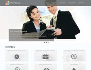 corpgenie.com screenshot