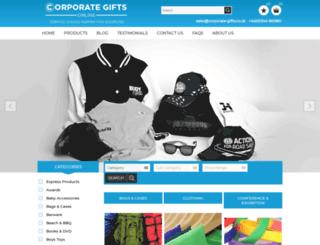 corporate-gifts.co.uk screenshot