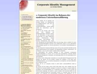 corporate-identity-management.de screenshot