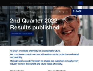 corporate.basf.com screenshot