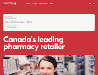 corporate.shoppersdrugmart.ca screenshot