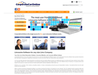 corporatecaronline.com screenshot
