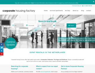 corporatehousingfactory.com screenshot
