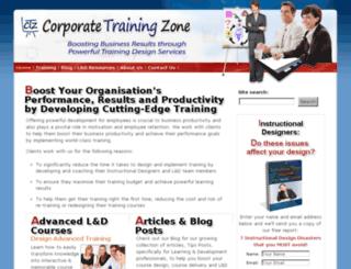 corporatetrainingzone.com screenshot