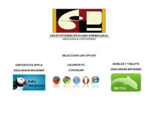 corporativogie.com screenshot