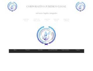 corporativojuridicolegal.com screenshot