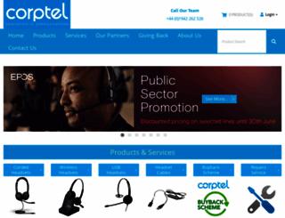 corpteluk.com screenshot