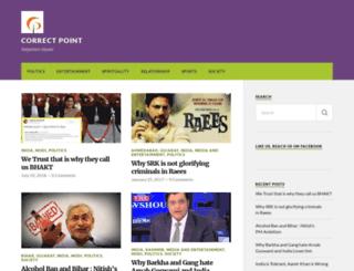 correctpoint.wordpress.com screenshot