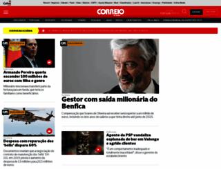 correiodamanha.pt screenshot